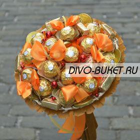 """Букет из конфет №705 """"Румяная заря"""""""