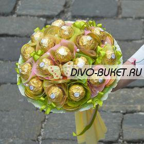 """Букет из конфет №672 """"Пленительное чувство"""""""